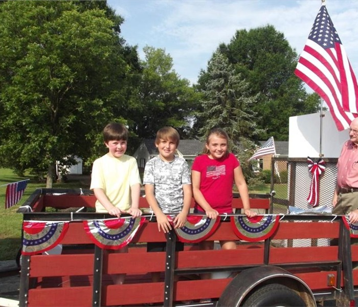 Fourth of July Parade in East Bend