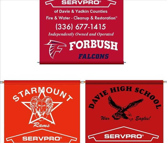 Supporting area High Schools in Davie and Yadkin Counties